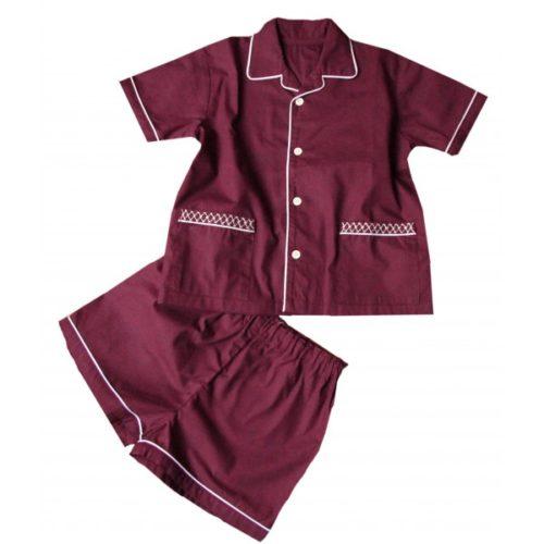 Pyjama bordeaux