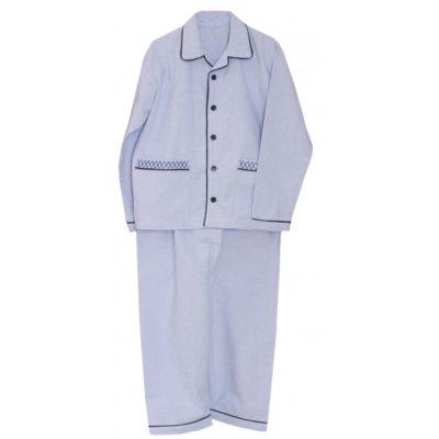 Pyjama chambray bleu