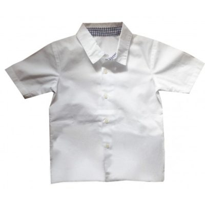 Chemise col vichy