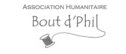 Bout d'Phil association humanitaire Logo