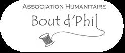 Bout d'Phil association humanitaire Logo
